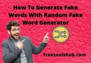 How To Generate Fake Words With Random Fake Word Generator